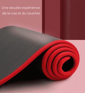 Tapis de Yoga antidérapant - Ultra Confort - épaisseur 10mm